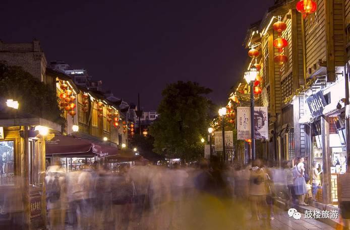 古风繁华街景手绘