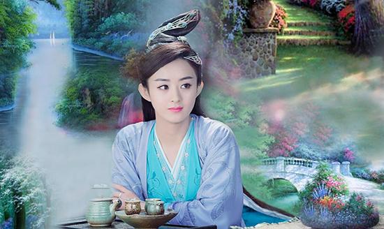 刘亦菲的赵灵儿赵丽颖的碧瑶 谁才是你心中的古风仙侠