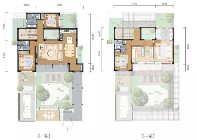 一百平院子设计平面图