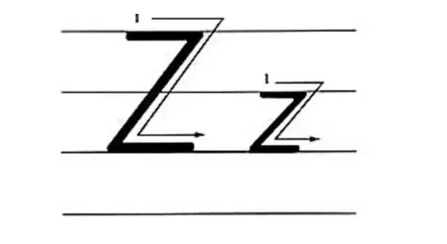 详细介绍26个字母的笔顺 写法 音标,瞬间变得规范和高大上