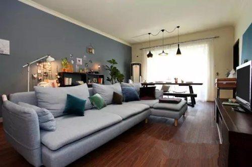 客厅不做吊顶,一样美出新高度~装管家网图片