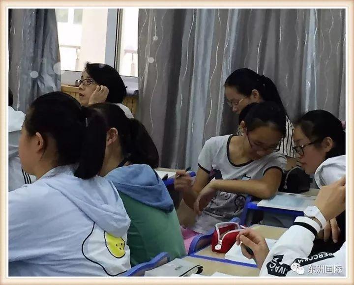 海门市东洲国际学校:大力践行生本 全面依靠学生