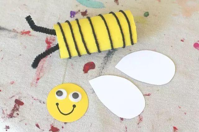 创意手工丨9款勤劳的小蜜蜂,亲子课不可错过哦!老师图片