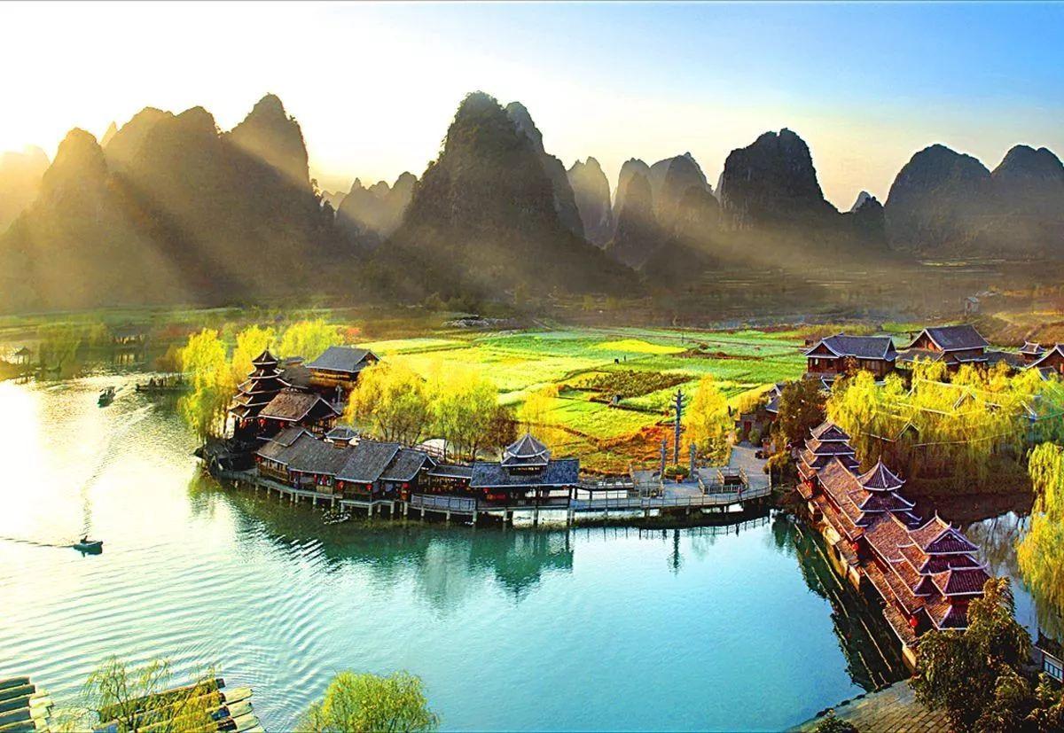 桂林会计?z+?_长春附近这座山水小城,不输桂林阳朔,2小时就能到!