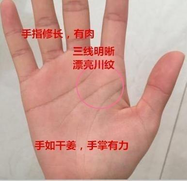 看手相川字掌_川字纹好不好,还要看手相整体,若手有这样特征,注定做老板 ...