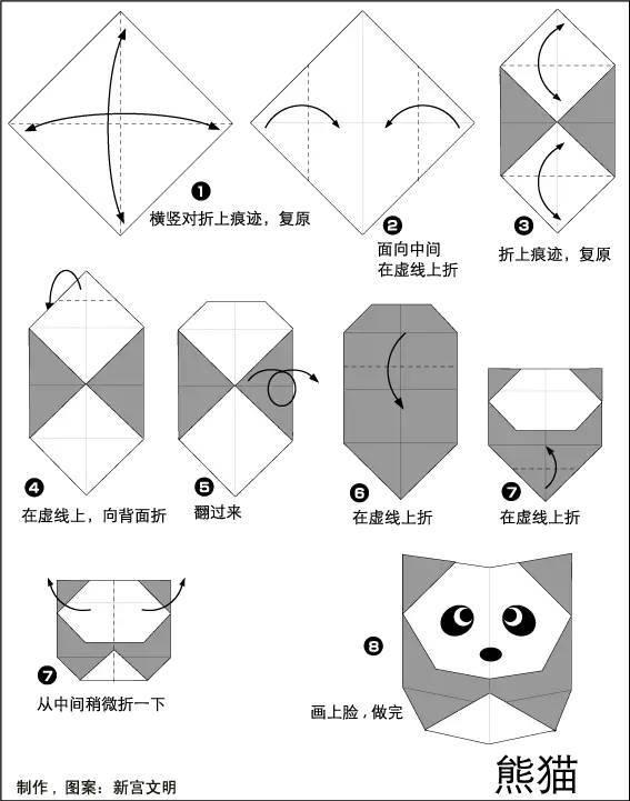 原标题:国宝级手工  老师家长一定要学会哦! 大熊猫作为我国的国宝深受小朋友的喜欢,尤其是大熊猫在吃竹子 的时候非常的可爱,而在行走的时候更能够凸显出其憨态可掬的模样, 而传统主题的剪贴画制作也常常会使用到大熊猫, 所以今天小莉老师就教大家大熊猫的手工教程吧。 01 海棉纸大熊猫 准备材料:黄色、粉色、黑色、蓝色、 绿色海绵纸各一张、剪子一把、胶棒一只