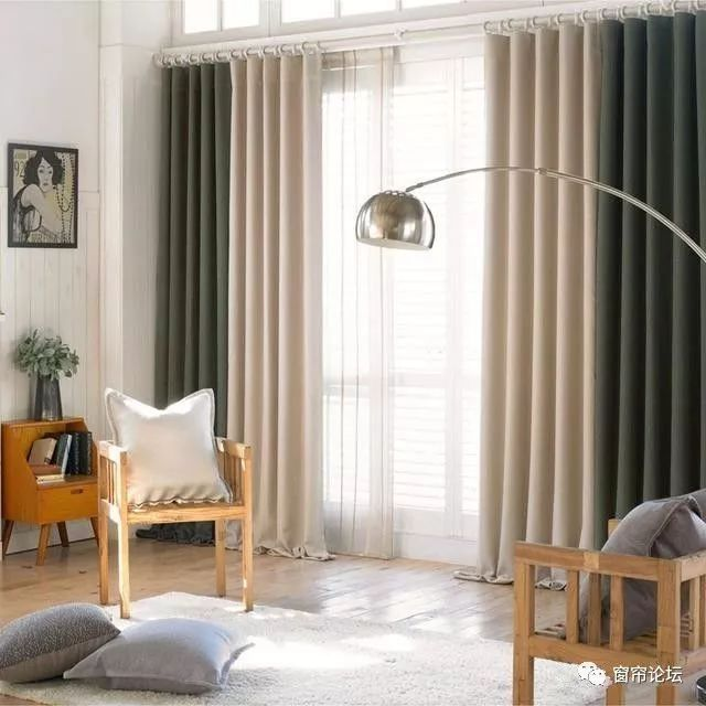 客厅窗帘现在流行这样搭配,让你怎能不心动