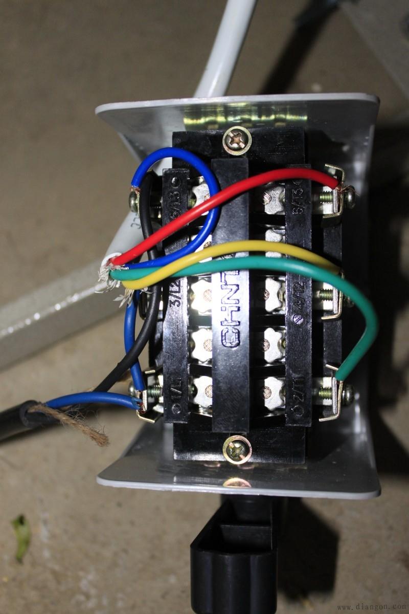 有了这个图,家用220v电机倒顺开关接线不求人