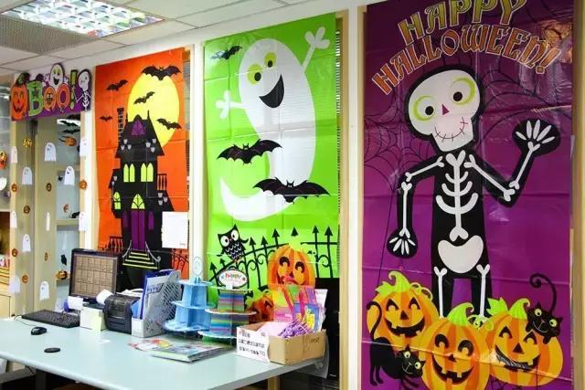幼儿园万圣节环创图片_万圣节教室环境创设_万圣节教室环境创设画法