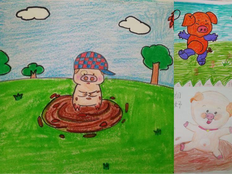 一二年级绘本阅读开启啦《小猪变形记》图片