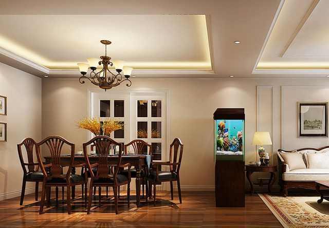 95平米美式风格两居室装修案例 预算15万搞定