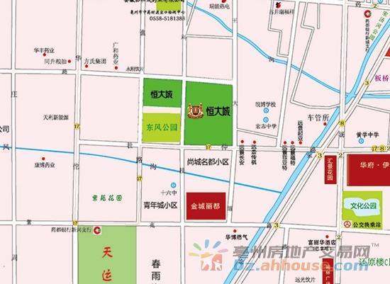 最新亳州谯城区规划图