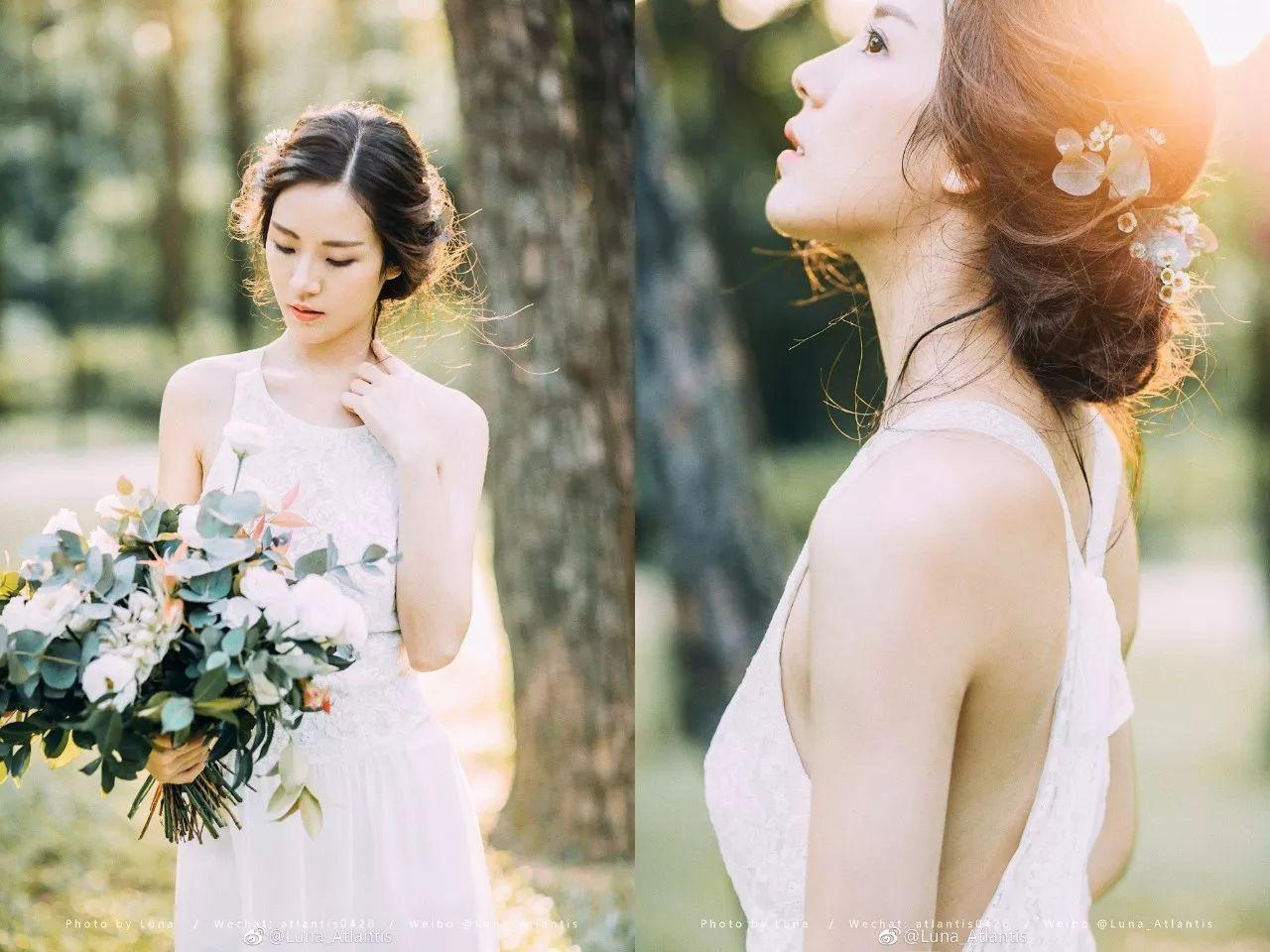 【S774】Luna_Atlantis婚纱旅拍人像摄影课程花间学院教程摄影后期修图教程