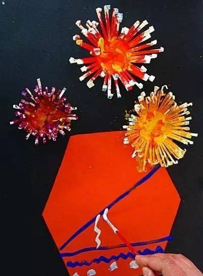 6款幼儿园重阳节创意手工制作,太美了!图片