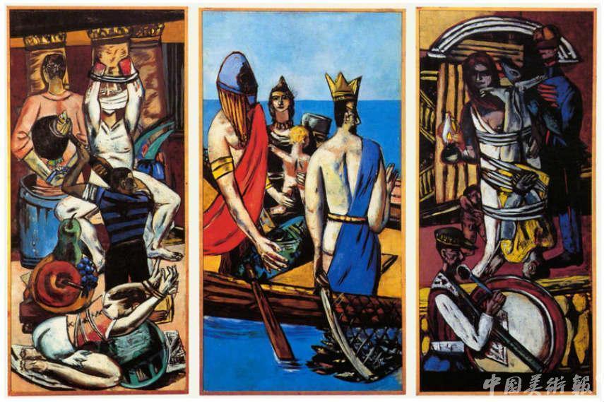"""那些被纳粹视为""""颓废艺术""""的现代主义绘画图片"""