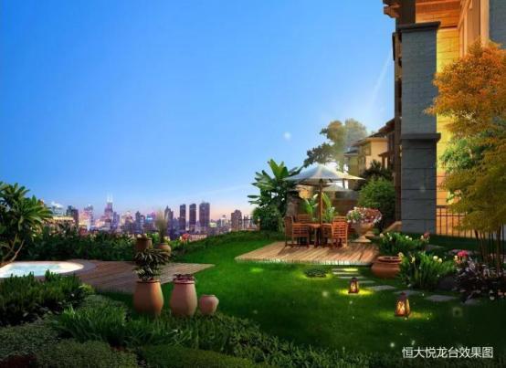 优质别墅,洋房别墅难觅,恒大悦龙台或成南充经典!超级主城的图片