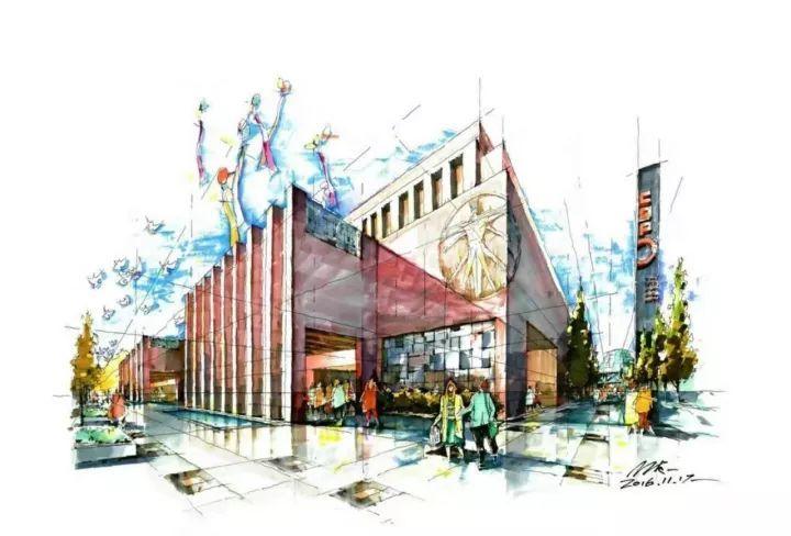 著名手绘艺术家,城市规划,建筑景观及室内资深设计师.