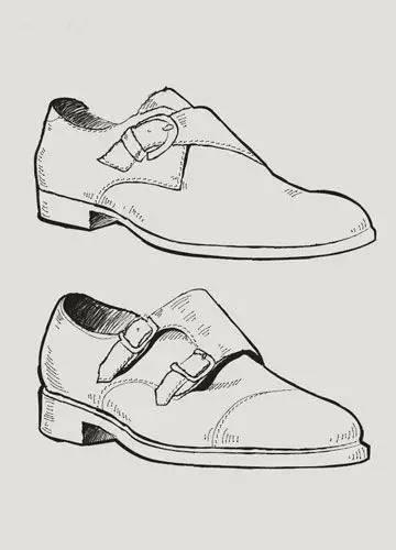 原型是挪威渔夫手工制作的工作鞋,由于免去了松系鞋带的步骤,穿脱