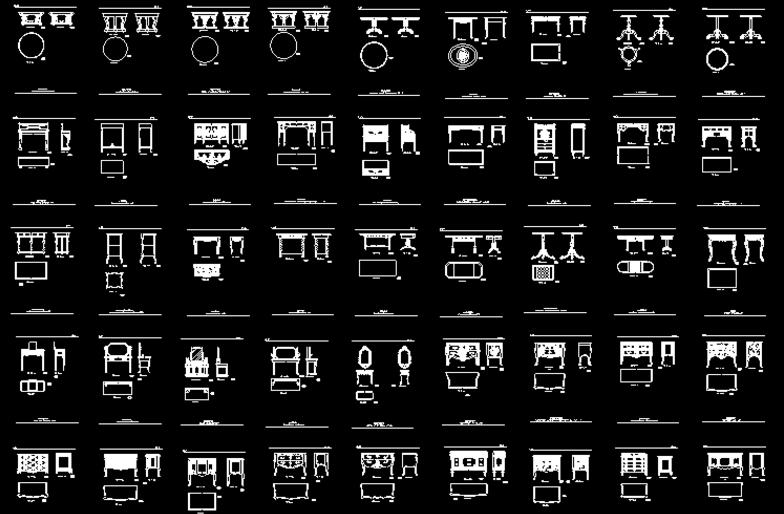 小编对于机械,建筑,室内设计等图纸的资源已经收藏了很多,这里告诉