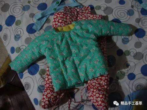 宝宝棉裤裁剪步骤图