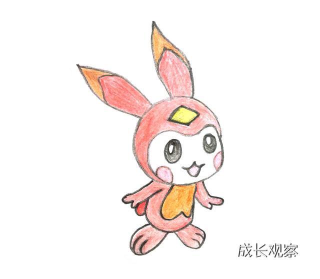 《赛尔号》超萌超可爱的小米精灵简笔画来了,一起来画吧!
