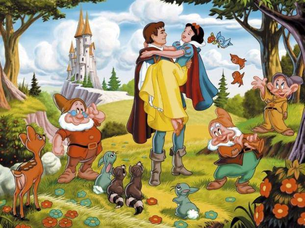 这是白雪公主与七个小矮人的故事结局?