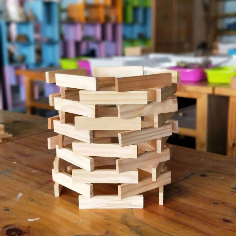 4.搭建10层五边形的卡普乐积木塔最快时间(两人一组)