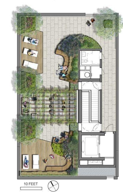 100张经典庭院设计图纸,美好庭院从平面图开始