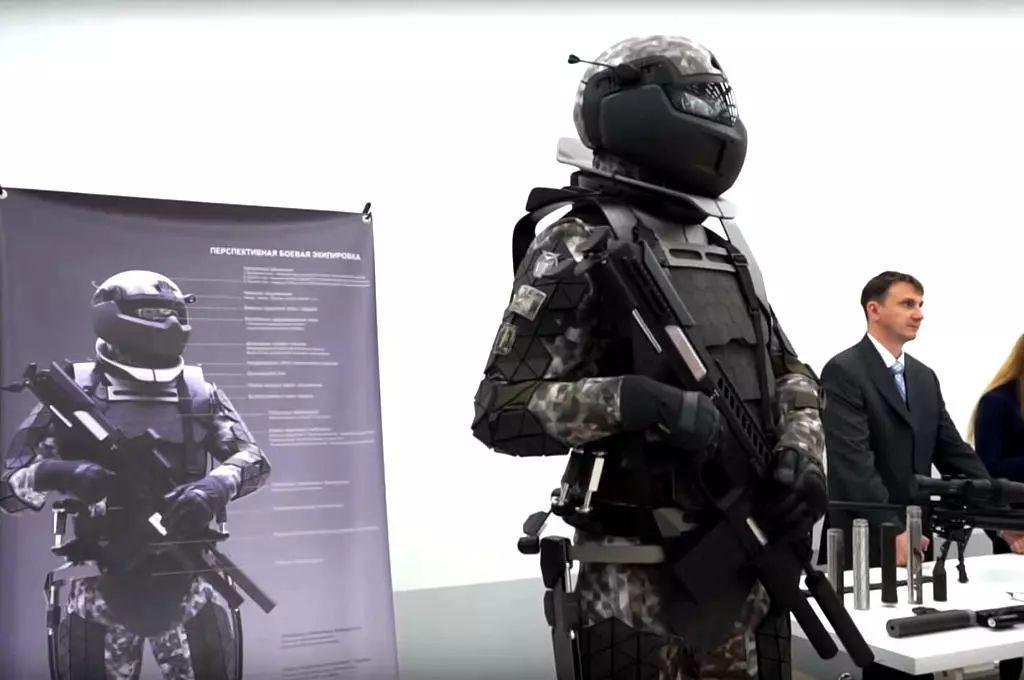 俄罗斯研发的第三代勇士单兵作战系统,看起来充满了科幻气息!