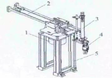 升降气缸:具有上升与下降开关,能够实现对于气动机械手的垂直方向移动图片