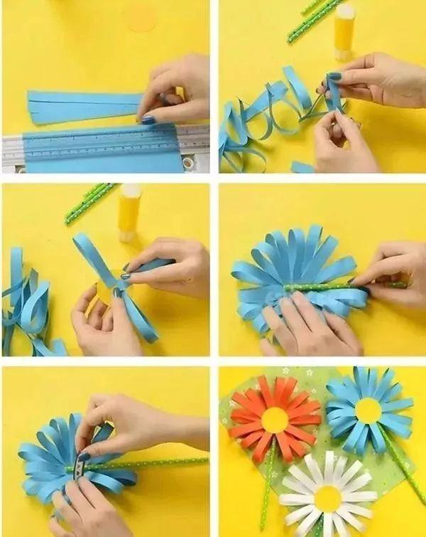 节日彩纸剪贴画-重阳节 请这样跟孩子说 重阳节
