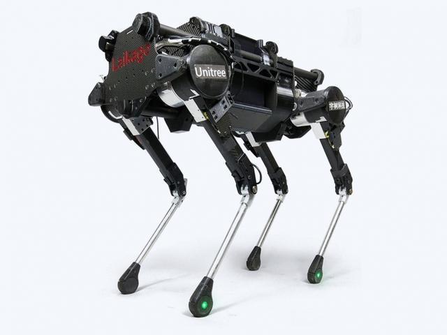 伺服馬達,中国团队推出四足机器人,真·稳如狗