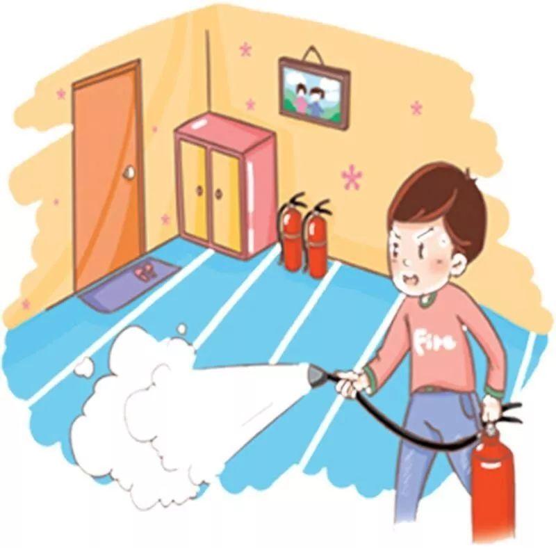 八,每个家庭都应制定消防安全计划,绘制逃生疏散路线图,及时检查,消除图片