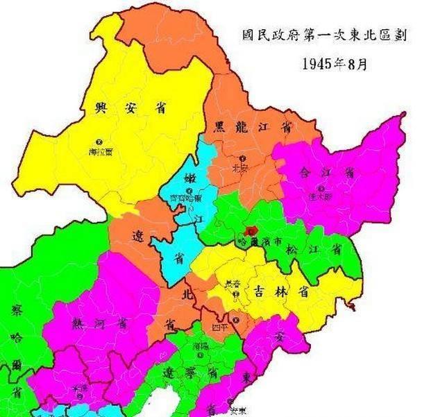 在中国东北,是东九省的其中之一,简称松,省会牡丹江.