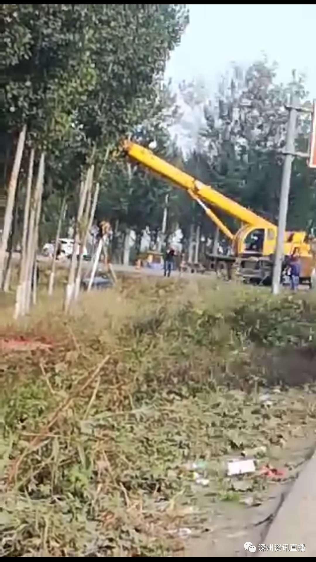 【深州资讯】肃衡路大广连接线路口发生一起车祸