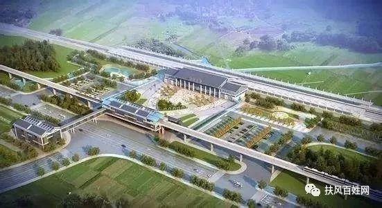 凤翔县城规划图