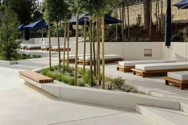 70例园林景观中的种植池设计