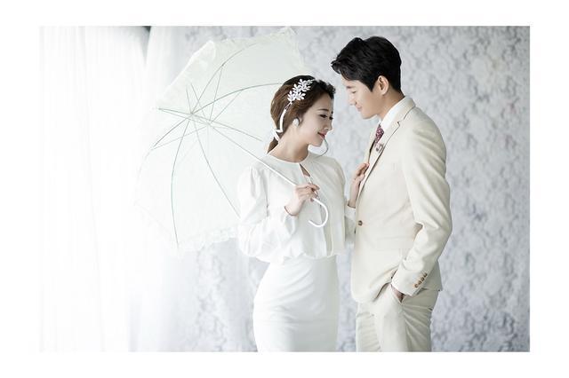 长沙韩式婚纱摄影 2017最新韩式婚纱照新娘造型