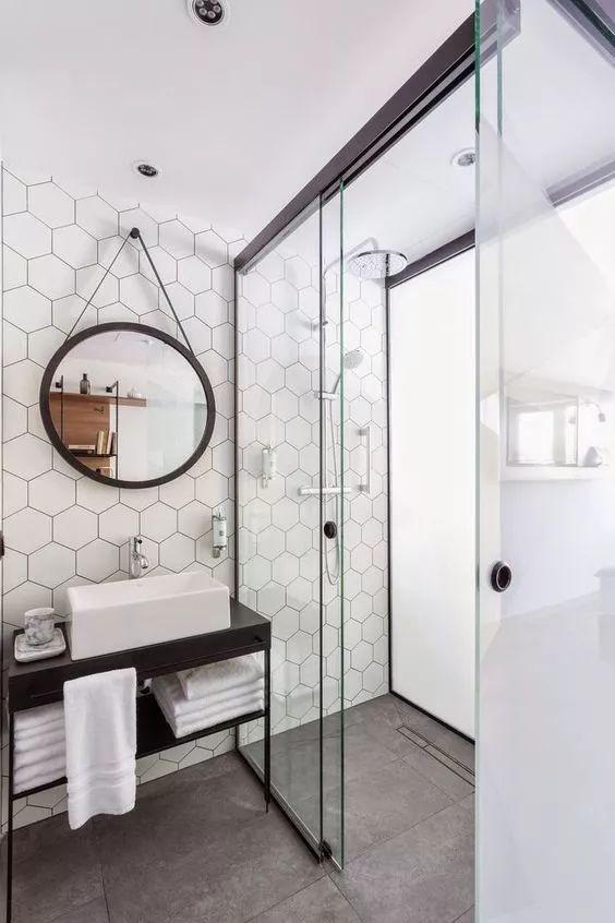 厕所 家居 楼梯 设计 卫生间 卫生间装修 装修 564_846 竖版 竖屏