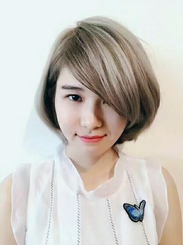 专业美感培养,女生短发发型设计视觉效果
