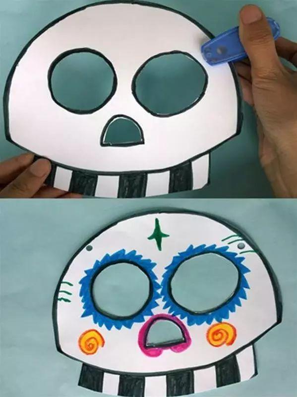 纸面具做法 步骤图解