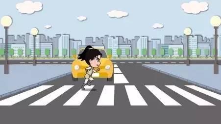 交警解释说,机动车行经人行横道时,即使没有行人正在过马路,也应当减图片
