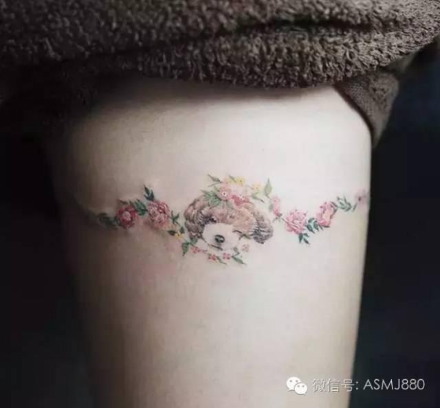 小清新纹身点缀
