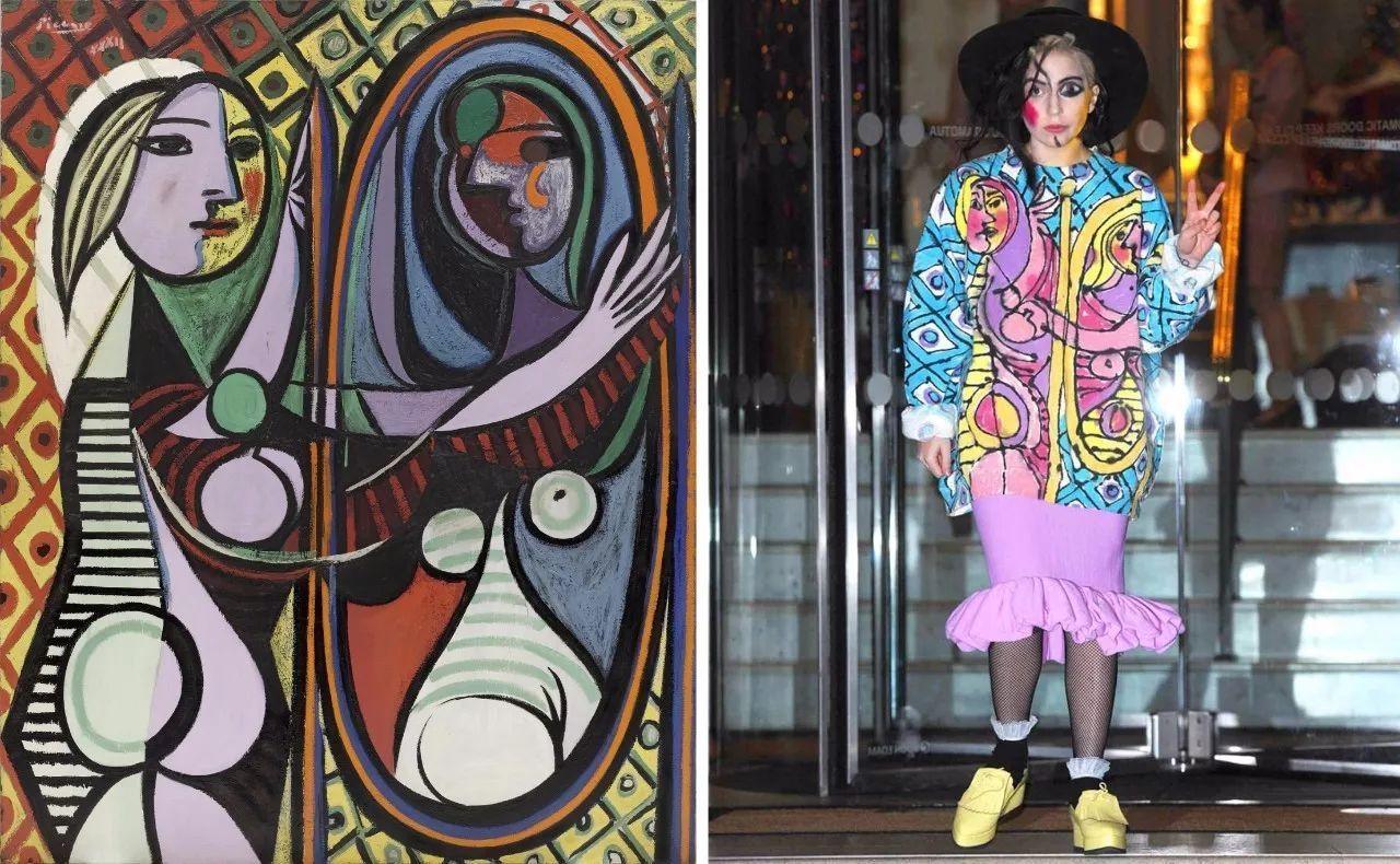 lady gaga vs. 毕加索