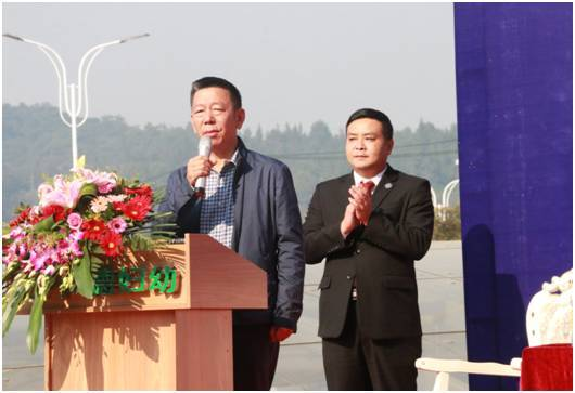 湘雅,省妇保,仁德专家揭牌仪式 仁德党支部书记傅文杰发言讲话 江西