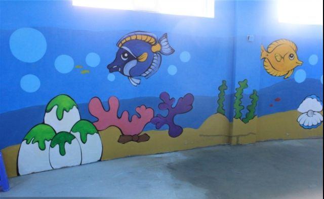 成都幼儿园手绘墙制作中要注意哪些事项
