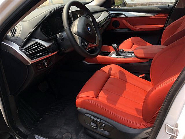 2017款宝马X6现车实拍车身尺寸价格介绍