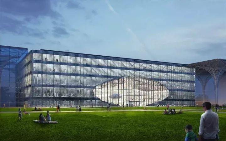 天津滨海图书馆设计方案发布