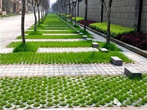 用砖头铺的菜园设计图