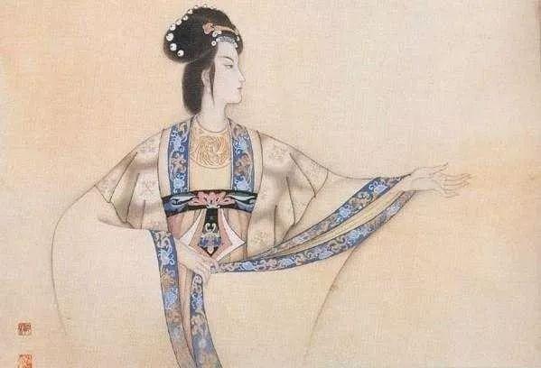 古风手绘女帝大图